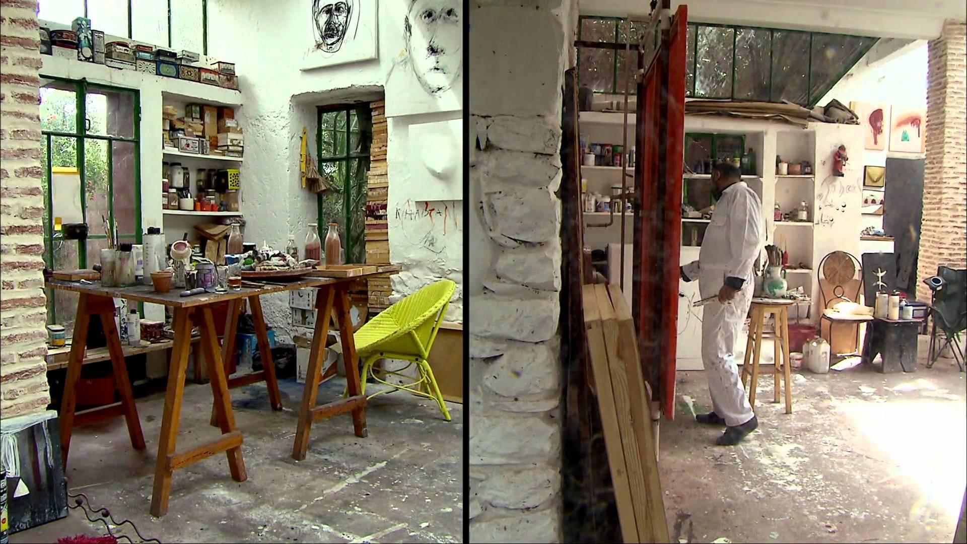à la rencontre de... Mohamed Mourabiti - Artiste peintre à Tahnaout